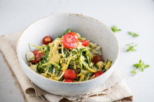 Raw Curry Noodles