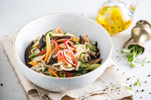 Shiitake Noodles